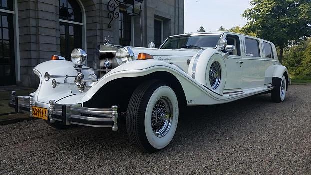Excalibur Limousine - Wit