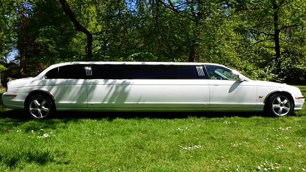 Jaguar Limousine - Wit