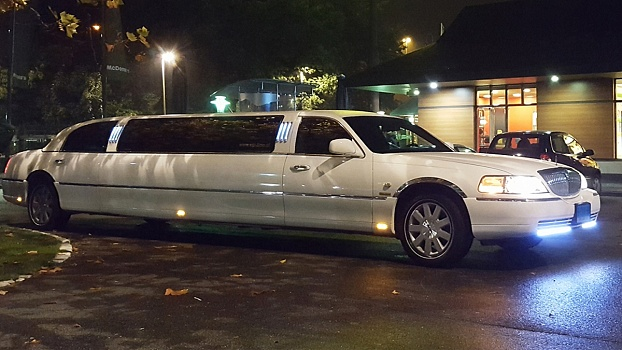 Lincoln Limousine - Wit