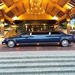 Cadillac Limousine - Donkerblauw 2