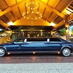 Cadillac Limousine - Donkerblauw 1