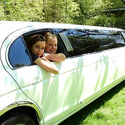 Jaguar Limousine - Wit 1