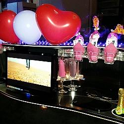 Lincoln Limousine - Roze Glitter 4