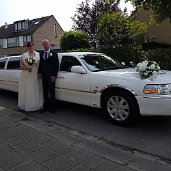 Lincoln Limousine - Wit 4