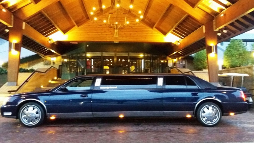 Cadillac Limousine - Donkerblauw